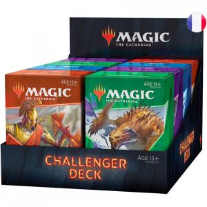 Boite de Magic : Lot des 4 Challenger Deck 2021