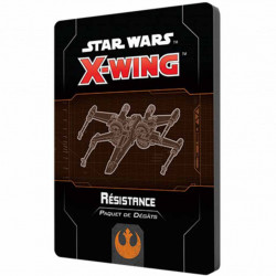 X-Wing 2.0 - Paquet de Dégâts Résistance