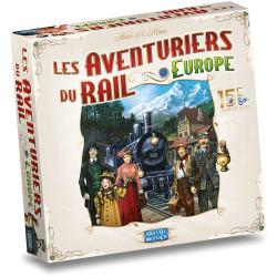 Les Aventuriers du Rail - Europe 15ème...