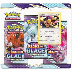 Pack 3 Boosters - EB06 Règne de Glace - Evoli