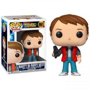 Boite de Figurine Pop! - Retour vers le Futur - Marty n°693