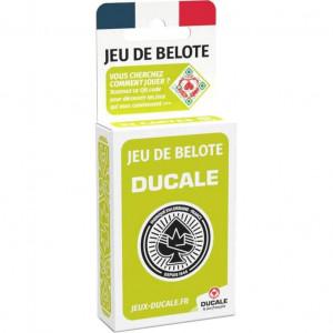 Boite de Jeu de 32 Cartes - Belote - Ducale
