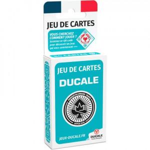 Boite de Jeu de 54 Cartes - Ducale - Bleu