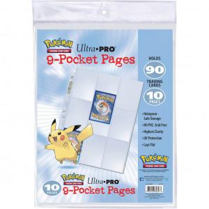 Boite de Pokémon - Paquet de 10 Feuilles pour Classeur