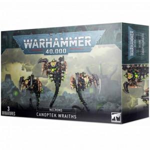 Boite de W40K : Necrons - Canoptek Wraiths