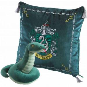 Boite de Harry Potter - Oreiller avec Peluche Serpentard