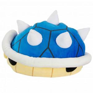 Boite de Mario Kart - Peluche Carapace Bleue 40 cm