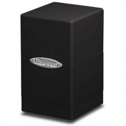 Boite Satin Noir - Tower Deck Box