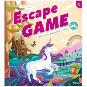 Boite de Escape Game Kids - Libère la Licorne Prisonnière de la Sorcière !