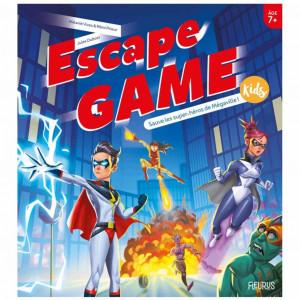 Boite de Escape Game Kids - Sauve les Super-Héros de Mégaville !