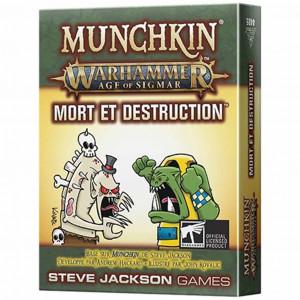 Boite de Munchkin : Warhammer - Age of Sigmar : Mort et Destruction