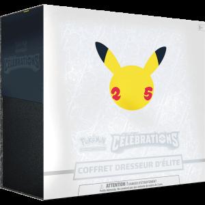 Boite de Pokemon 25 ans - Célébrations - Coffret Dresseur d'Elite