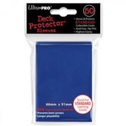 50 Protège Cartes Std Bleu