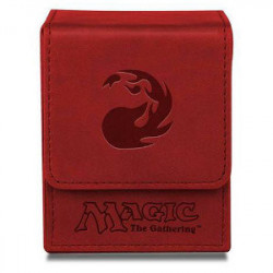 Boite Cuir Magic Mana Rouge