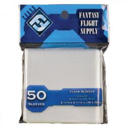 50 Protège Cartes 70x70mm FFG (Paquet...
