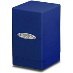 Boite Satin Bleu - Tower Deck Box