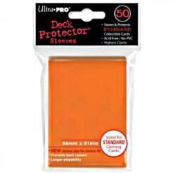 50 Protège Cartes Std Orange