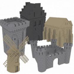 Fief : Pack de Bâtiments