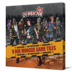 Zombicide : Rue Morgue Game Tiles