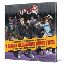 Zombicide : Angry Neighbors Game Tiles