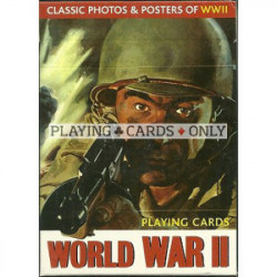 Jeu de 54 cartes - World War II