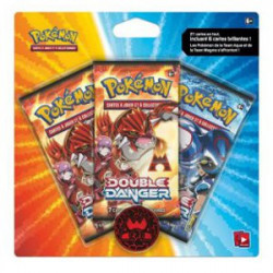 Pack 3 Boosters Double Danger : Team Magma
