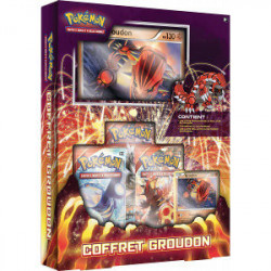 Coffret Pokemon Groudon