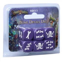 Rum & Bones - Set de Dés Diables Osseux