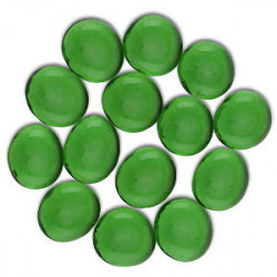 Sachet de 30 Gemmes - Vert Transparent (Dragon...
