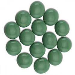 Sachet de 30 Gemmes - Vert Opaque (Dragon Shield)