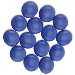 Sachet de 30 Gemmes - Bleu Opaque (Dragon Shield)