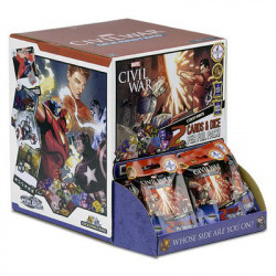 90 Boosters Marvel Dice Masters : Civil War