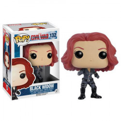 Pop Vinyl Civil War : Black Widow