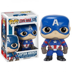 Pop Vinyl Civil War : Captain America