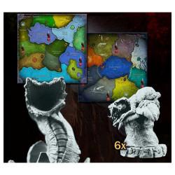 Cthulhu Wars - Carte des Contrées du Rêve
