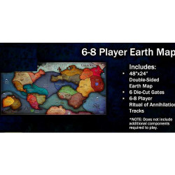 Cthulhu Wars - Carte 6-8 Joueurs