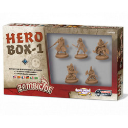Zombicide Black Plague - Hero Box