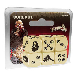 Zombicide Black Plague - Bone Dice