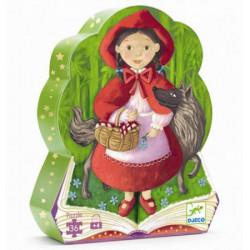 Puzzle 36 Pièces : Le Petit Chaperon Rouge