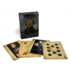 Jeu de 52 cartes Game of Thrones