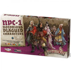 Zombicide Black Plague - Notorious Plagued...