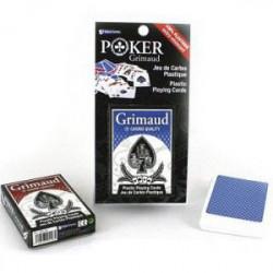 Cartes de Poker Grimaud 100% Plastique