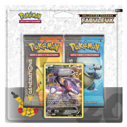 Duo Pack Générations Genesect