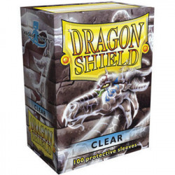 100 Protège Cartes Dragon Shield Clear