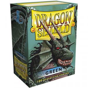 Protege Carte Zombicide Black Plague.100 Protege Cartes Dragon Shield Vert