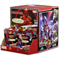 90 Boosters Marvel Dice Masters : Deadpool