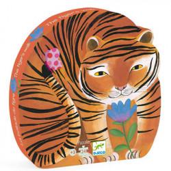 Puzzle 24 Pièces : La Balade du Tigre