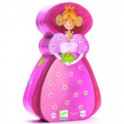Puzzle 36 Pièces : La Princesse et la Grenouille