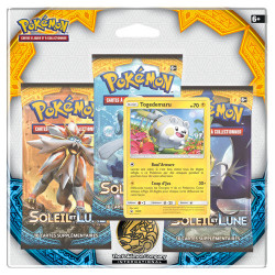 Pack 3 Boosters - Soleil et Lune