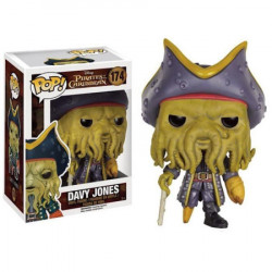 Pop Vinyl Pirates des Caraïbes : Davy Jones